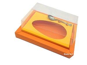 Caixa para Ovos de Colher 500g Laranja / Laranja Claro