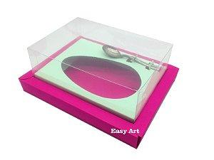 Caixa para Ovos de Colher 500g Pink / Verde Claro