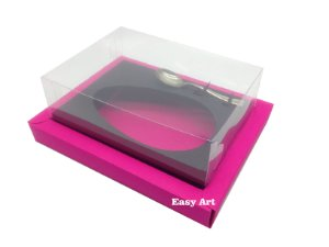 Caixa para Ovos de Colher 500g Pink / Marrom