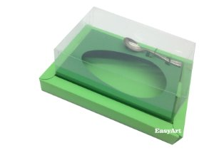 Caixa para Ovos de Colher 500g Verde Pistache / Verde Bandeira