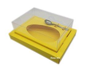 Caixa para Ovos de Colher 350g Amarelo - Linha Colors