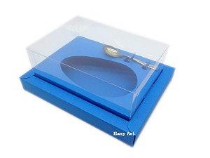Caixa para Ovos de Colher 350g Azul Turquesa - Linha Colors