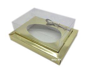 Caixa para Ovos de Colher 350g Dourado - Linha Colors