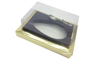 Caixa para Ovos de Colher 350g Dourado / Preto