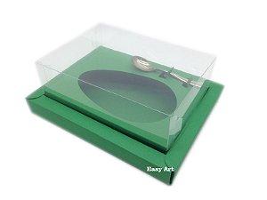 Caixa para Ovos de Colher 350g Verde Bandeira - Linha Colors