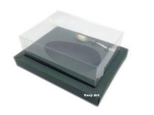 Caixa para Ovos de Colher 350g Verde Musgo - Linha Colors