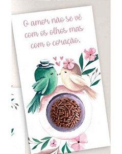 Cartão Blister Pássaros