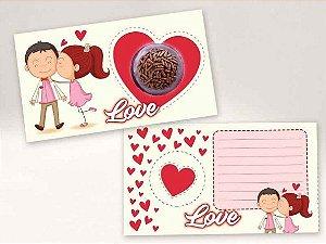 Cartão Blister Love