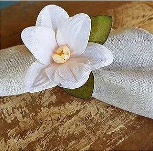 Porta Guardanapos / Flores de Tecido - Flora - Pct com 24 Unidades