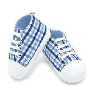 Tênis Bebê em Tecido de Algodão / Tam. 11