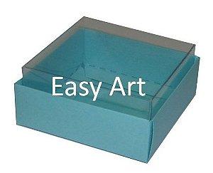 Caixinhas para Bijuterias / Azul Tiffany - 5x5x2,5