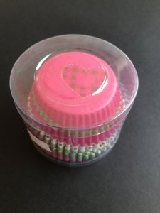 Forminhas Impermeáveis - Cupcakes Padrão / Pct 100 Un