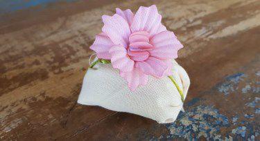 Mini Flores para Bem Casados / Tecido - Melissa