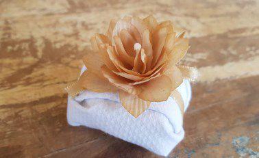 Mini Flores para Bem Casados / Tecido - Mini Lótus