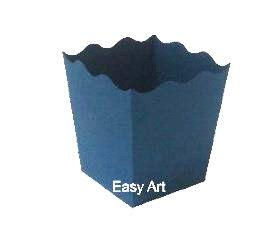 Cachepô / Caixa para Pipoca - Azul Marinho