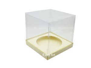 Caixa para Mini Panetones - Marfim