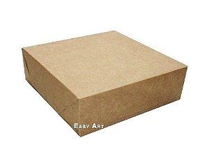 Caixa para Presentes ou 56 Doces - Kraft
