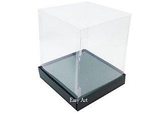 Caixinhas para Mini Bolos / Mini Panetones com Berço - Verde Musgo
