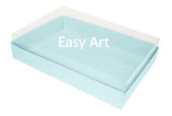 Caixas para 24 Mini Doces - Azul Claro