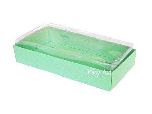 Caixinha para 1 Sabonete / Bijuterias - Verde Pistache