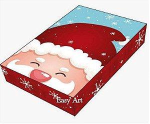 Caixa para 12 Brigadeiros com Berço - Papai Noel