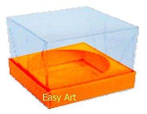 Caixa para Esferas de Sabonete - Laranja Claro