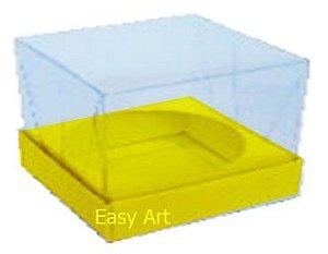 Caixa para Esferas de Sabonete - Amarelo