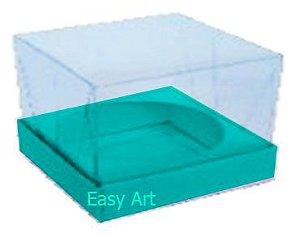 Caixa para Esferas de Sabonete - Azul Tiffany