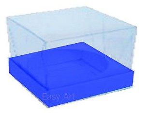 Caixa para Esferas de Sabonete - Azul Turquesa