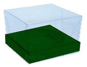 Caixa para Esferas de Sabonete - Verde Musgo