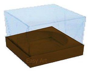 Caixa para Esferas de Sabonete - Marrom Chocolate