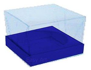 Caixa para Esferas de Sabonete - Azul Marinho