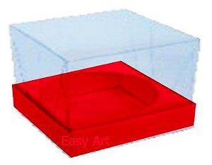 Caixa para Esferas de Sabonete - Vermelho