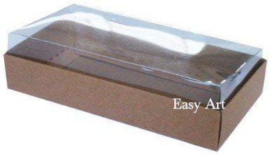 Caixinha para 1 Sabonete / Bijuterias - Marrom Claro