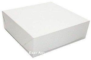 Caixa para presentes ou 64 Doces - Branco