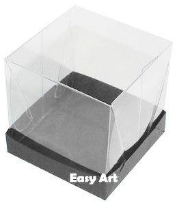 Caixinha para Mini Bolos - Preto