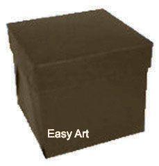 Caixinhas para Mini Bolos - Marrom Chocolate