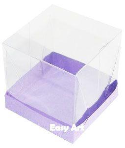 Caixinhas para Mini Bolos - Lilás