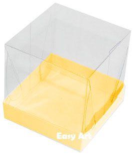 Caixinhas para Mini Bolos - Laranja Claro