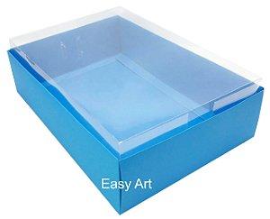 Caixa para Urso de Chocolate / Multiuso - Azul Turquesa