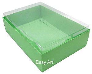 Caixa para Urso de Chocolate / Multiuso - Verde Pistache