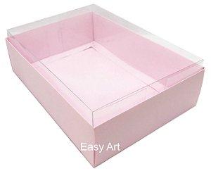 Caixa para Urso de Chocolate / Multiuso - Rosa Claro