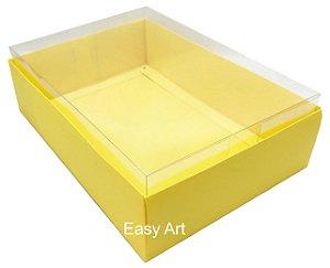 Caixa para Urso de Chocolate / Multiuso - Amarelo