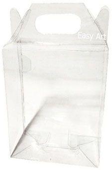 Caixa Maleta - Transparente