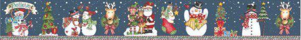 Cinta Grande Para Panetone / Feliz Natal Believe