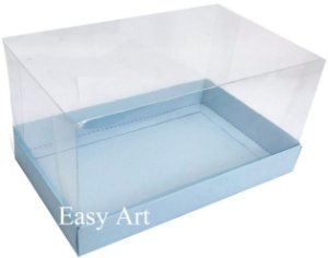 Caixa para Duas Canecas / Multiuso - Azul Claro
