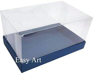Caixa para Duas Canecas / Multiuso - Azul Marinho