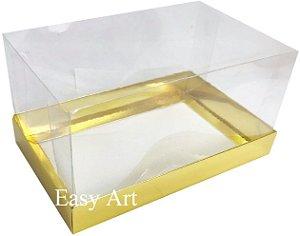 Caixa para Duas Canecas / Multiuso - Dourado Brilhante