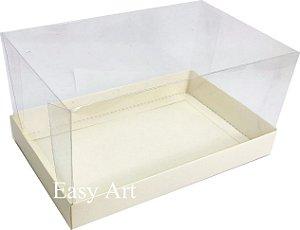Caixa para Duas Canecas / Multiuso - Marfim