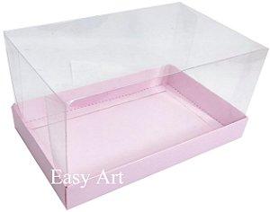 Caixa para Duas Canecas / Multiuso - Rosa Claro
